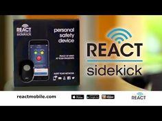 AsSeenOnTV.pro & Kevin Harrington - The React Sidekick - The world's smallest personal safety device - YouTube
