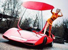 Pininfarina Fiat Abarth 2000 Scorpio concept car is all the way from 1970 photos) Fiat Abarth, Easy Rider, Low Rider, Motor Kombi, Ferrari F40, Maserati, Lamborghini, Design Autos, Auto Girls