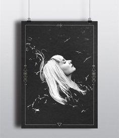 Art direction, illustration and design for Faroese singer-songwriter #EIVØR #album #artwork #slør #collage #illustration #faroeislands #siggaella #heidi #andreasen #heidiandreasen