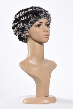MK160907_079a Beanie, Fur, Knitting, Hats, Fashion, Moda, Tricot, Hat, Fashion Styles