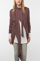 Open cardigan - does anyone feel a draft?