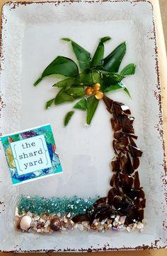 Broken Glass Crafts, Broken Glass Art, Sea Glass Crafts, Shattered Glass, Sea Glass Art, Mosaic Art, Mosaic Glass, Mosaics, Smash Glass