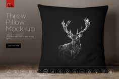 Yes, I need this too. Pillow Mock-up by mesmeriseme.pro on @creativemarket