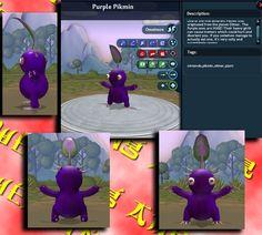 spore pikmin | Spore - Purple Pikmin by *Powerwing-Amber on deviantART