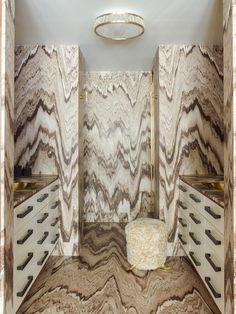 Ideas For Marble Wallpaper Kelly Wearstler Luxury Furniture, Cool Furniture, Living Room Furniture, Furniture Design, Furniture Ideas, Kelly Wearstler Wallpaper, Bathroom Remodel Cost, Dream Bathrooms, Handmade Home Decor