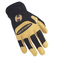 HERITAGE STABLE WORK GLOVE #gloves #riding www.westernrawhide.com Work Gloves, Stables, How To Wear, Horse Stables, Horse Barns