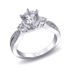 Engagement ring #LC1000 - Coast Romance Collection - Coast Diamond Bridal Engagement Ring Collections