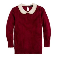 i need a new sweater like i need a hole in my head but the collar! the color! the shape!