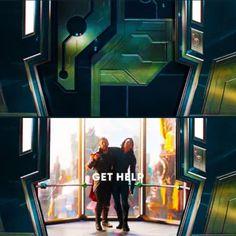 "Loki and Thor ""get help"""