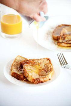 Pain sirop orange cannelle banane lait amande