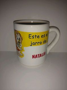 Collectible Mug For Natalie In Spanish Child