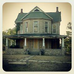 Stone house in Lane, KS.
