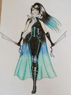 warrior drawing