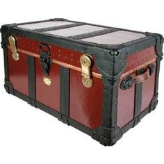 Theatrical steamer trunk