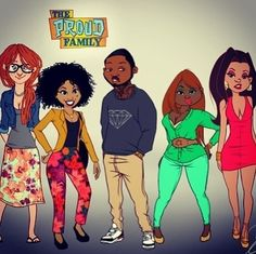 Tagged: the proud family Penny Proud dejonay jones all grown up disney tatted cartoon swag kyla pratt. Black Love Art, Black Girl Art, Black Is Beautiful, Black Girl Magic, Art Girl, Black Tv, Black Girls, Cartoon Kunst, Cartoon Art