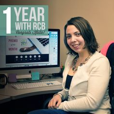 Happy One Year #Workiversary to our web developer, Katie Fontaine! We wish you many more with R.C. Brayshaw!