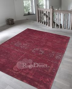 "This ""Fading World"" rug is exploiting the current trend in the 'super used' or 'distressed' look.   These rugs are available in the rich but faded colours of wild ruby, midnight, atlantic deep, creole spice and jade oyster.  Available in 9 different sizes from our website, from as little as £85.00: www.rugsdirect.co.uk #rugsdirect #rug #countryliving  #country #interior  http://www.rugsdirect.co.uk/rugs/modern/fading-world"