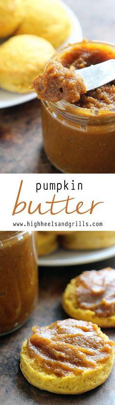 Pumpkin Butter - A delicious, homey way to enjoy the fall season!