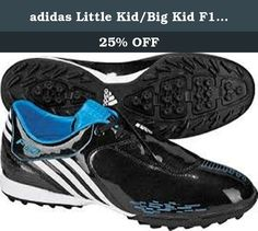 adidas Little Kid/Big Kid F10 TRX FG Soccer Shoe,Black/White/Cyan,5.5 M US Big Kid. Face the game head on in this sleek style by adidas™ Kids. Man-made upper with signature three-stripe design. Laces are hidden under the innovative lace cover which provides an increased kicking area. Man-made lining. EVA insole for comfort. adiPRENE™ insert for comfort and shock absorption. Durable rubber outsole. Weight : 7 oz Product measurements were taken using size 2 Youth. Please note that…