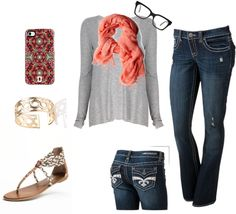 """casual"" by kipscutie on Polyvore"