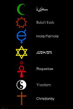 This poster would help me in contemplating the reality we all want the same thing:Love. No matter the religion or faith, we are all on the path to love and growth.