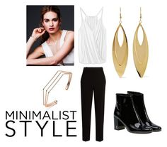 Minimalist Style by alyssaauthor on Polyvore featuring polyvore fashion style The Row Yves Saint Laurent Kenneth Jay Lane clothing