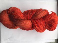 100 g 4fach handgefärbte Sockenwolle, gefärbte Wolle von Opal,
