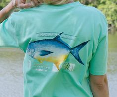 Southern Marsh Collection — Southern Marsh Outfitter Collection - Pompano Color: Bimini Green Size: L