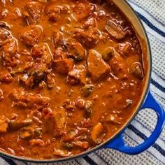 Recipe for Pork with Paprika, Mushrooms, and Sour Cream | Kalyn's Kitchen®