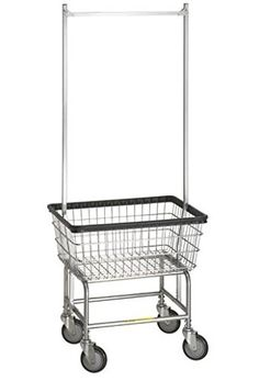 R&B Wire Standard Laundry Cart - Double Pole, 2015 Amazon Top Rated Laundry Baskets #Home