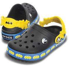 Crocs Crocband Batman Shield Clog - Scallywags Vancouver