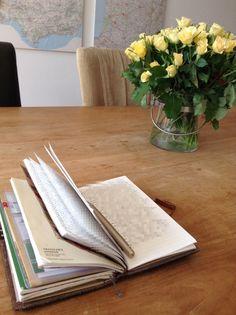 Writing in my Midori travelers notebook