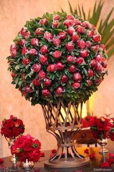 Faça você mesmo meu amor | Maçã do amor para o seu casamento | Casando sem Grana | Clique na imagem e acesse.