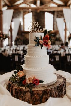 Flowers by Lace and Lilies cake flowers color palette floral palette wedding flowers mountain cake dessert flowers colorado wedding color palette mountain wedding Pretty Wedding Cakes, Fall Wedding Cakes, Wedding Cake Rustic, Cute Wedding Ideas, Wedding Cake Inspiration, Wedding Cake Designs, Our Wedding, Wedding Flowers, Dream Wedding