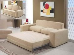 Delicieux Sleeper Sofa Small Spaces With Abstract Picture ~ Http://lovelybuilding.com/