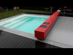 Shipping Container Swimming Pool, Diy Swimming Pool, Spa, Garden, Outdoor Decor, Outdoors, Youtube, Home Decor, Pools