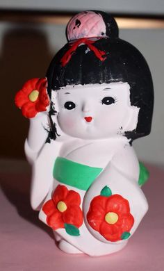 Japan porcelain girl pink bow, philipines nude babes