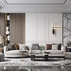 Living Room Tv Unit Designs, Home Design Living Room, Interior Design Living Room, Living Room Decor, Luxury Homes Interior, Luxurious Bedrooms, Sofa Design, Wall, Ideas