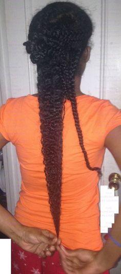 Black Women with Long Hair