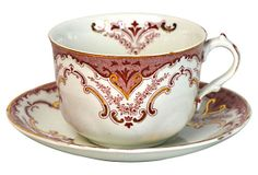 Vintage Cambridge Teacup & Saucer