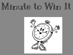 Minute to Win It…Fun collection of games (and photos) that could be used in the classroom as stress relievers or just when everyone needs a little break.  #elemchat #spedchat #games  via Tunstall's Teaching Tidbits which is fast becoming one of my favorite blogs.