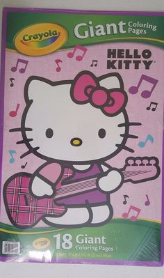 Hello Kitty Giant Coloring Pages By Crayola