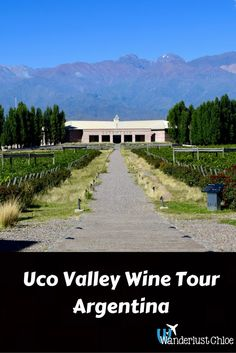 Uco Valley Wine Tour, Mendoza, Argentina. The Uco Valley is one of Argentina's top wine regions. With beautiful wineries, vineyards and top restaurants, a tour is the best way to explore the region. http://www.wanderlustchloe.com/2016/06/uco-valley-wine-tour-mendoza-argentina.html