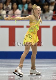 Ice Skating, Figure Skating, Elena Radionova, Nhk, Art Model, Grand Prix, Skate, Fashion, Moda