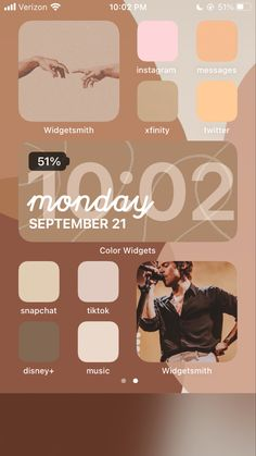 Iphone Home Screen Layout, Iphone App Layout, Iphone Design, Ios Design, Cartoon Wallpaper Iphone, Aesthetic Iphone Wallpaper, Organize Phone Apps, Phone Themes, Ios Update
