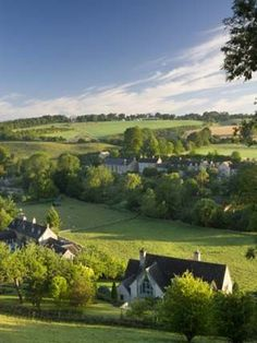 The Picturesque Village of Naunton in the Cotswolds, Gloucestershire, the Cotswolds, England,
