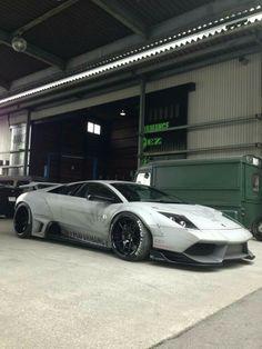 Lamborghini Murcielago.. Liberty Walk Cars, Car Tuning, Mustang Tuning, Dream Car Garage, Lamborghini Cars, Tuner Cars, Sweet Cars, Car Engine, Modified Cars