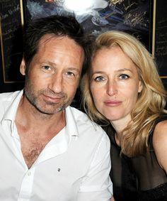 David Duchovny & Gillian Anderson @ San Diego Comic-Con (July 18)