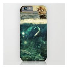 Water World Fantasy Scenery  iPhone 6s Case ($35) ❤ liked on Polyvore featuring accessories, tech accessories and iphone & ipod cases
