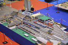Huge train station